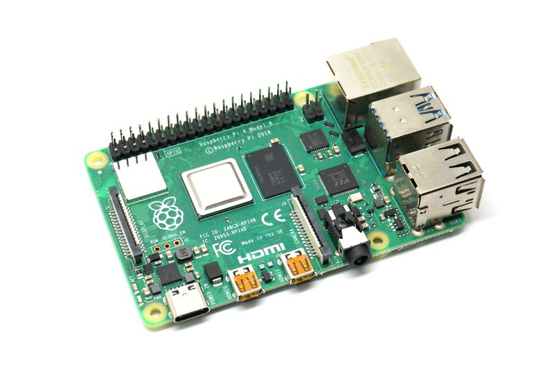 картинка RASPBERRY Pi 4 Model B 2GB | ВсеКомпоненты.ру